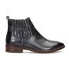 Modrá kožená dámska obuv v Chelsea štýle bata, modrá, 594-9682 - 19