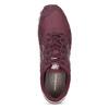 Vínové pánske tenisky z brúsenej kože new-balance, červená, 803-5141 - 17