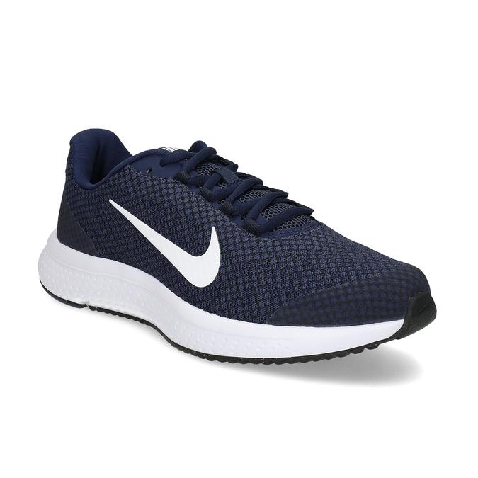 Pánske modré športové tenisky nike, modrá, 809-9882 - 13