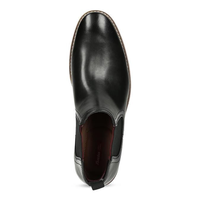 Čierna pánska Chelsea obuv bata-red-label, čierna, 821-6611 - 17