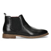 Čierna pánska Chelsea obuv bata-red-label, čierna, 821-6611 - 19