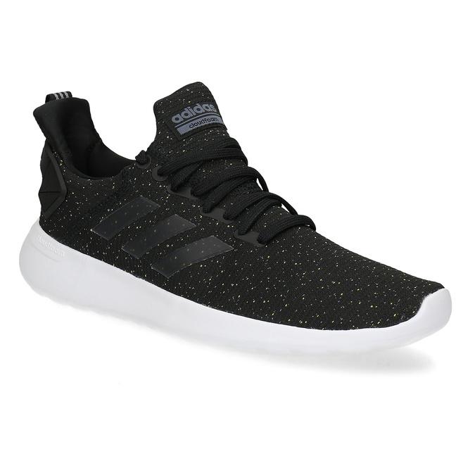Členkové pánske tenisky so vzorom adidas, čierna, 809-6114 - 13