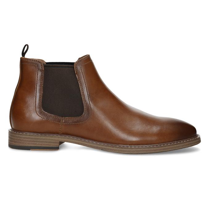 Pánska hnedá Chelsea obuv bata-red-label, hnedá, 821-3611 - 19