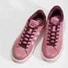 Ružové dámske ležérne tenisky adidas, červená, 501-5101 - 16