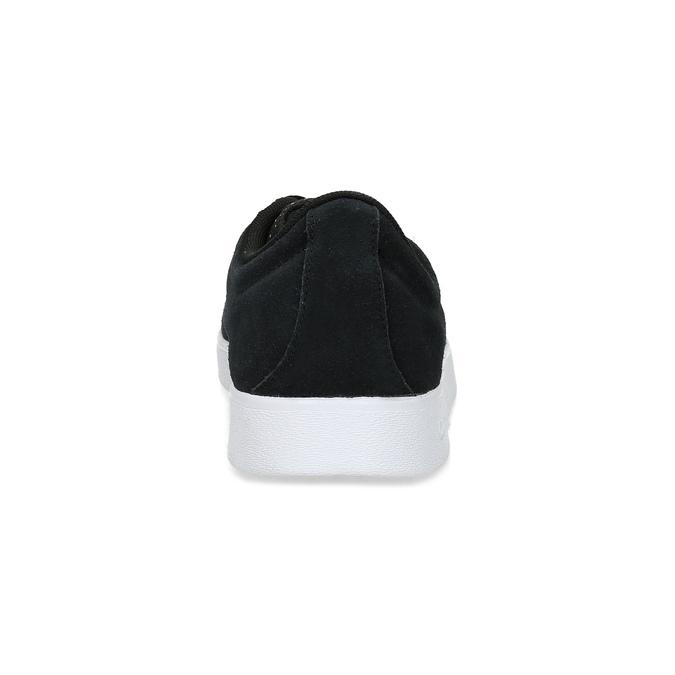 Čierne pánske kožené tenisky adidas, čierna, 803-6119 - 15