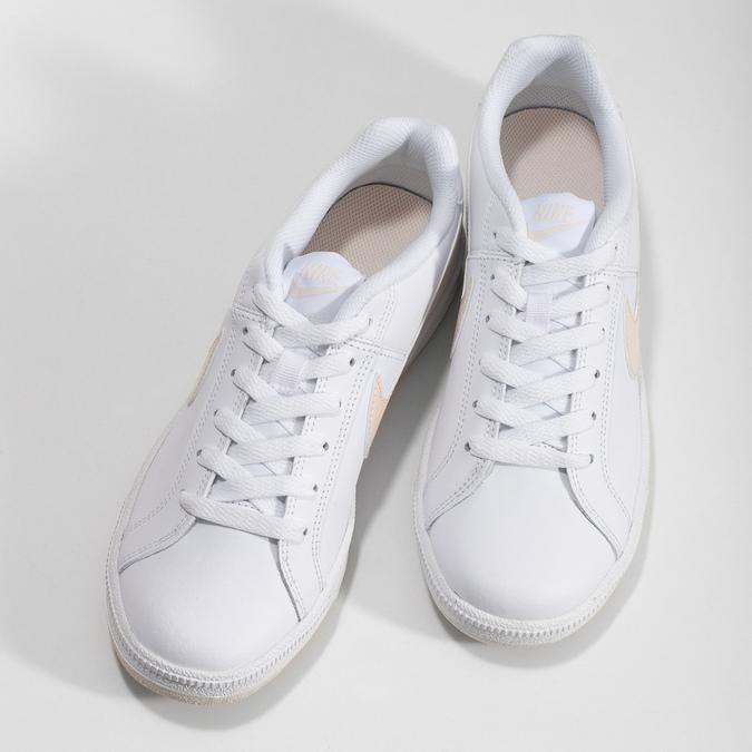 Dámske biele ležérne tenisky nike, biela, 501-1125 - 16
