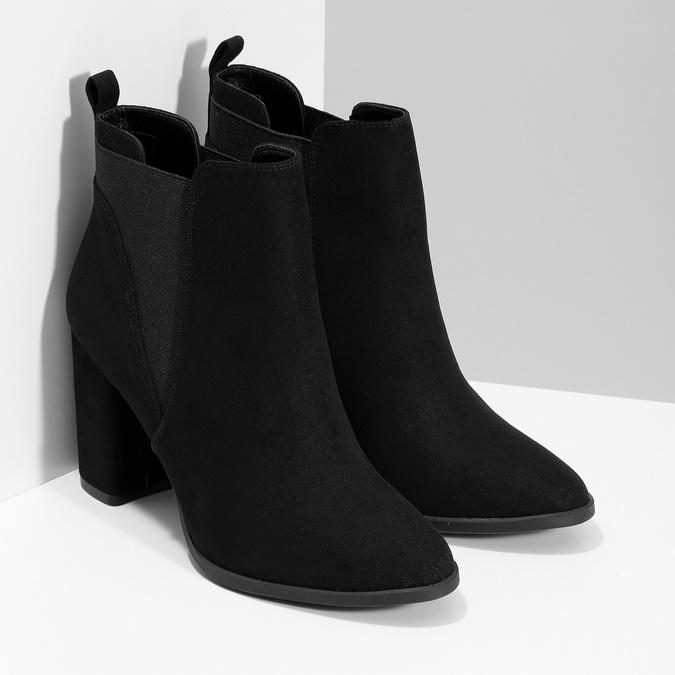 Členková dámska obuv v Chelsea štýle bata-red-label, čierna, 799-6629 - 26