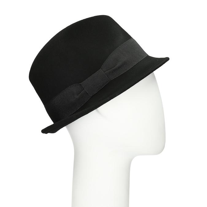 Čierny klobúk bata, čierna, 909-6354 - 13