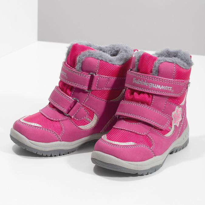 Ružové detské snehule bubblegummers, ružová, 199-5602 - 16