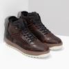 Členková kožená pánska zimná obuv bata, hnedá, 896-3712 - 26