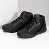 Pánska čierna členková obuv geox, čierna, 821-6033 - 16