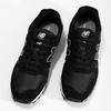 Čierne pánske tenisky z brúsenej kože new-balance, čierna, 803-6137 - 16