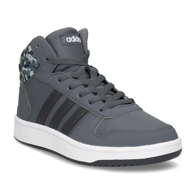 9951b60b63 Adidas Šedé členkové detské tenisky - Všetky chlapčenské topánky ...