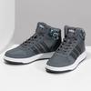 Šedé členkové detské tenisky adidas, šedá, 401-2395 - 16