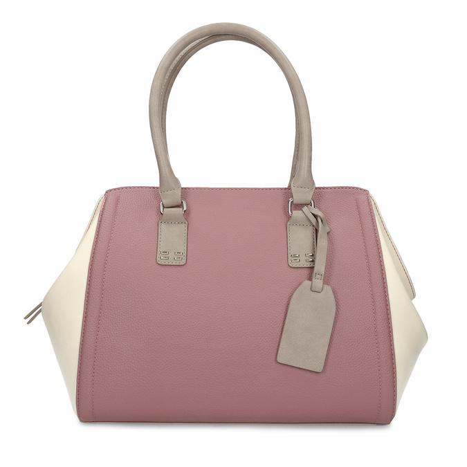 Dámska staroružová kabelka bata-red-label, ružová, 961-5928 - 26