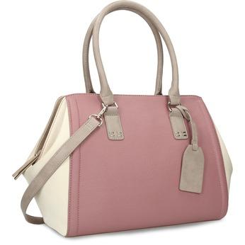 Dámska staroružová kabelka bata-red-label, ružová, 961-5928 - 13