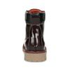 Vínová dámska kožená členková obuv weinbrenner, červená, 596-5726 - 15