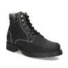 Čierna dámska kožená členková obuv weinbrenner, čierna, 596-6729 - 13
