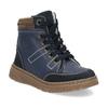 Detské modré kožené zimné topánky mini-b, modrá, 294-9601 - 13