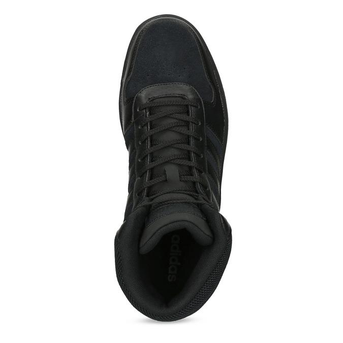 Pánske členkové tenisky čierne adidas, čierna, 803-6118 - 17
