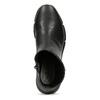Dámska čierna členková obuv hladká bata-b-flex, čierna, 591-6636 - 17