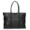Čierna kožená kabelka bata, čierna, 964-6604 - 16