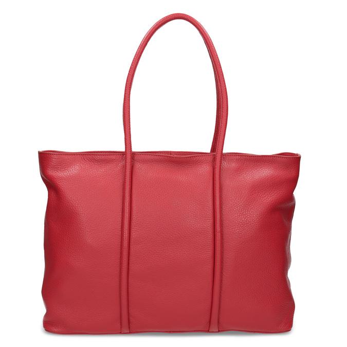 Červená kožená kabelka bata, červená, 964-5604 - 26