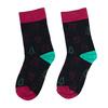 Unisex ponožky s vianočnými motívmi bata, čierna, 919-9775 - 26