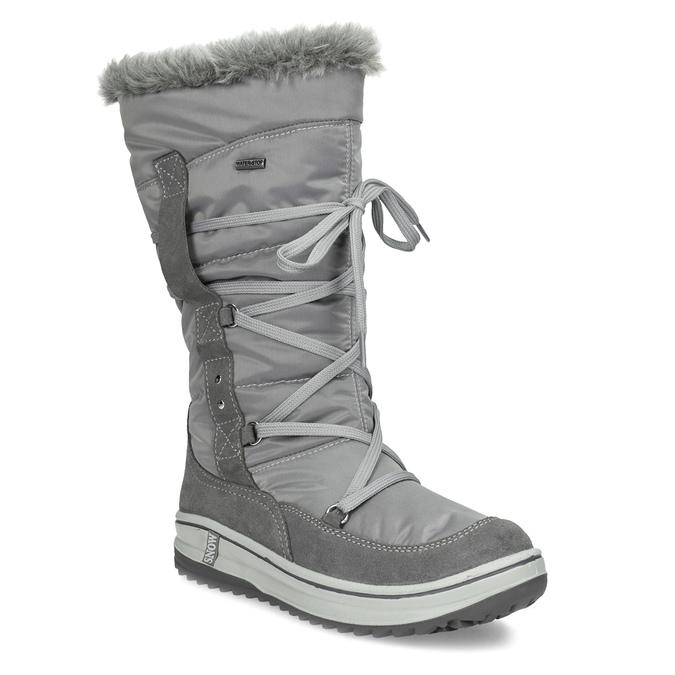 ddd76a123573a Weinbrenner Dámske šedé snehule s kožúškom - Všetky topánky | Baťa.sk