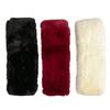 Kožušinový dámsky šál bata, viacfarebné, 909-0515 - 13