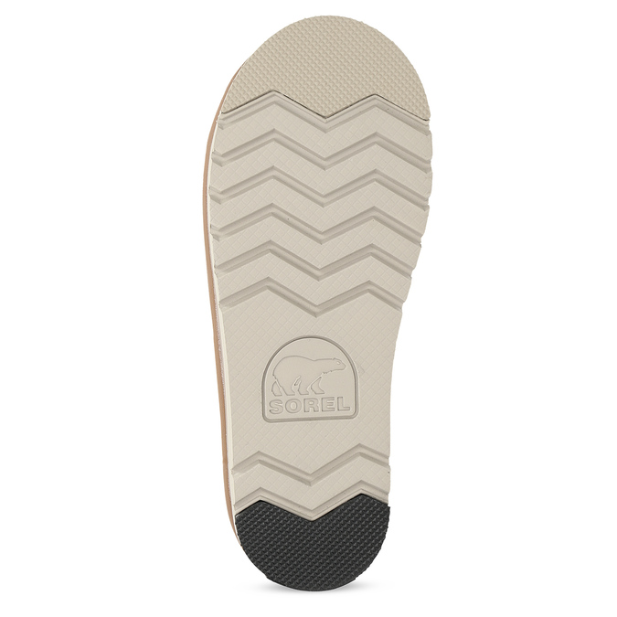 Hnedé dámske kožené topánky sorel, hnedá, 693-3080 - 18