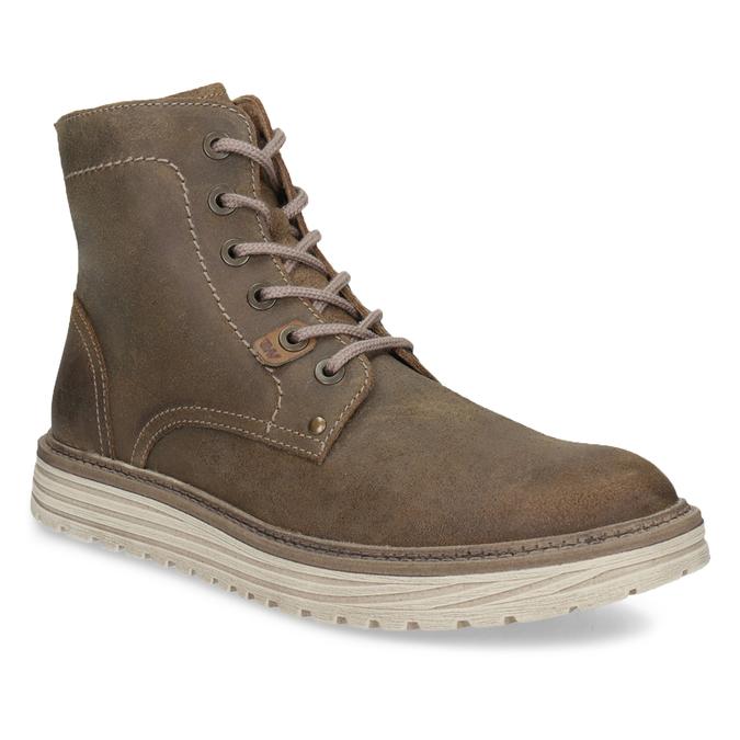 57547b834fd0 Weinbrenner Pánska členková obuv z brúsenej kože - Zimná obuv