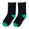 Detské vysoké zelené ponožky bata, zelená, 919-7686 - 26