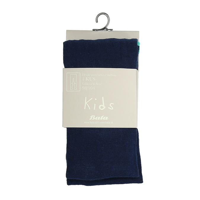 Tmavomodré detské pančuchové nohavice bata, modrá, 919-9687 - 13