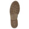 Dámska hnedá kožená zimná obuv weinbrenner, hnedá, 596-3743 - 18
