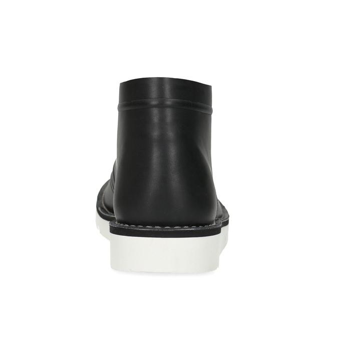Čierna pánska členková obuv bata-b-flex, čierna, 899-6601 - 15