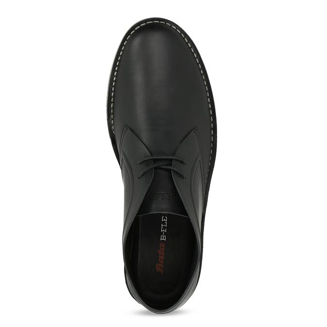 Čierna pánska členková obuv bata-b-flex, čierna, 899-6601 - 17