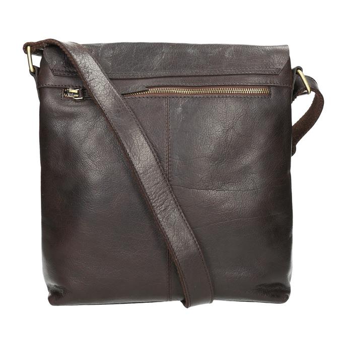 Pánska kožená taška bata, hnedá, 964-4234 - 26