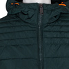 Zelená pánska bunda s prešitím bata, zelená, 979-7430 - 16