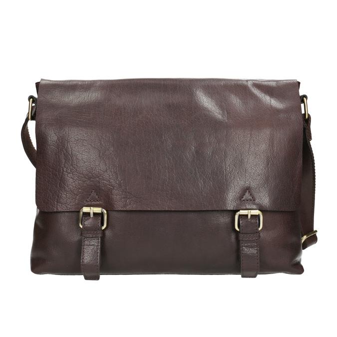 Kožená pánska taška bata, hnedá, 964-4235 - 17