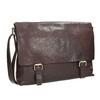 Kožená pánska taška bata, hnedá, 964-4235 - 13