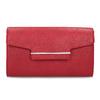 Dámska červená listová kabelka bata-red-label, červená, 961-5943 - 26