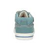 Detské modré tenisky z brúsenej kože bubblegummers, modrá, 116-9634 - 15