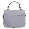 Šedá kabelka s kožušinovým príveskom bata-red-label, šedá, 961-9942 - 16