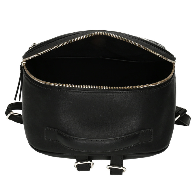 Dámsky batôžtek s čiernym odopínateľným vreckom bata-red-label, čierna, 961-6945 - 15