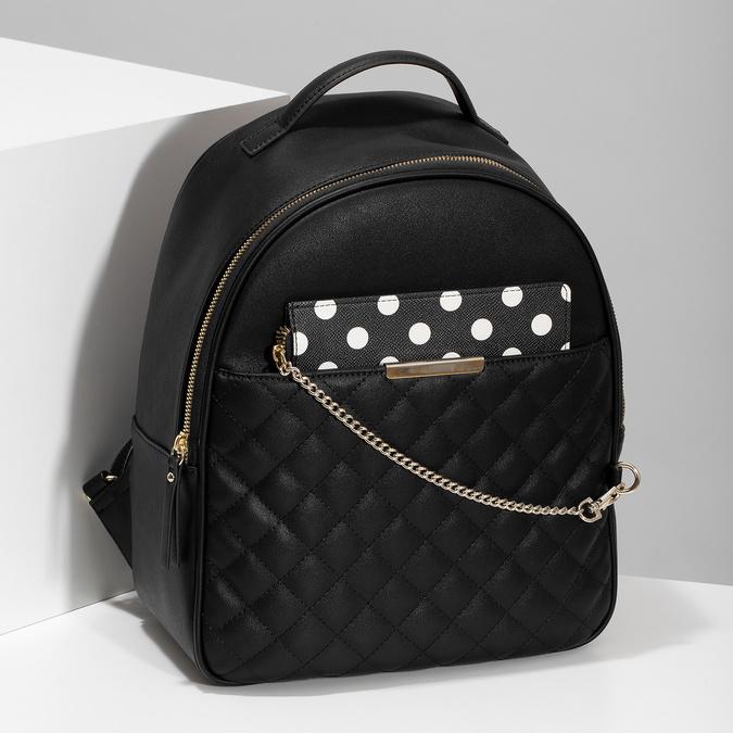 Dámsky batôžtek s čiernym odopínateľným vreckom bata-red-label, čierna, 961-6945 - 17