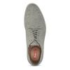 Pánske svetlošedé poltopánky bata-red-label, šedá, 821-2611 - 17