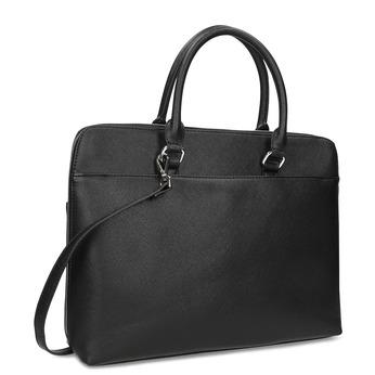 Dámska čierna taška s popruhom bata, čierna, 961-6956 - 13