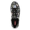 Dámske tenisky s kvetinovým vzorom čierne bata-red-label, viacfarebné, 541-6606 - 17