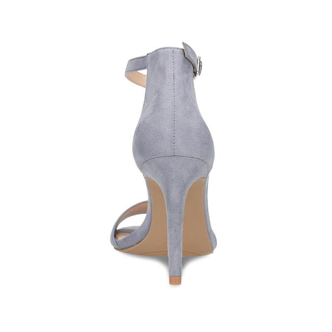 Modré dámske sandále na ihličkovom podpätku bata-red-label, modrá, 769-9626 - 15